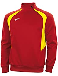Joma Spain 2017/18 Players Rugby Training Sweatshirt - Red/Yellow