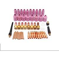 KUNSE 51Pk TIG Kit Lente De Gas para WP 17 18 26 Antorcha Accesorios Repuestos Piezas