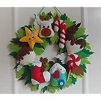 Decoracion navideña, corona navidad