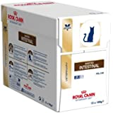 Royal Canin Cat Food Gastro Intestinal 100g (48 Pouches)