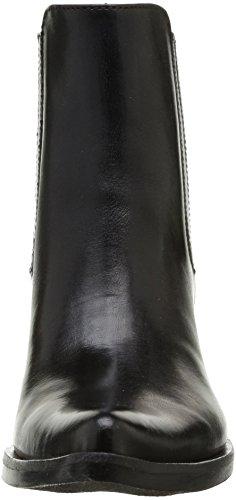 Donna Piu Enea 7705, Bottes western femme Noir (Tequila Nero)