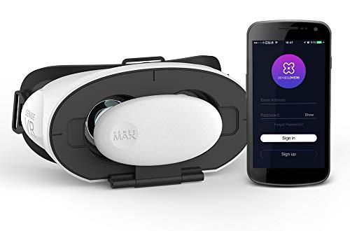 SenseMax Sense VR Virtuelles Headset schwarz-weiß