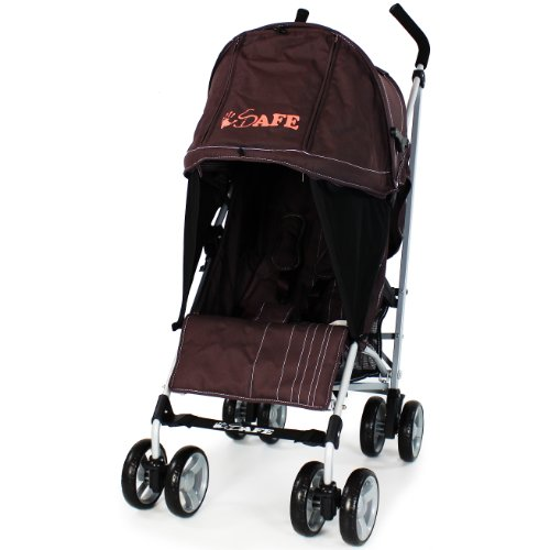 iSafe Media Viewing Buggy Stroller Pushchair - Hot Chocolate (Brown)