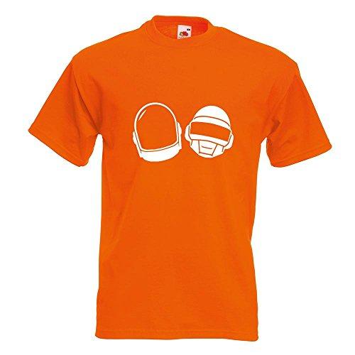 KIWISTAR - Homework T-Shirt in 15 verschiedenen Farben - Herren Funshirt bedruckt Design Sprüche Spruch Motive Oberteil Baumwolle Print Größe S M L XL XXL Orange