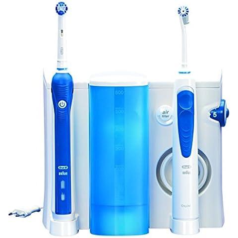 Oral-B Professional Care OxyJet +3000 - Cepillo de dientes eléctrico recargable + irrigador bucal