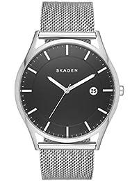Skagen SKW6284 - Reloj con la banda de metal para hombre, color negro / plateado