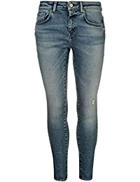 Firetrap Homme Naomi Vanessa Jeans Coupe Skinny Pantalon En Denim Poches Bouton