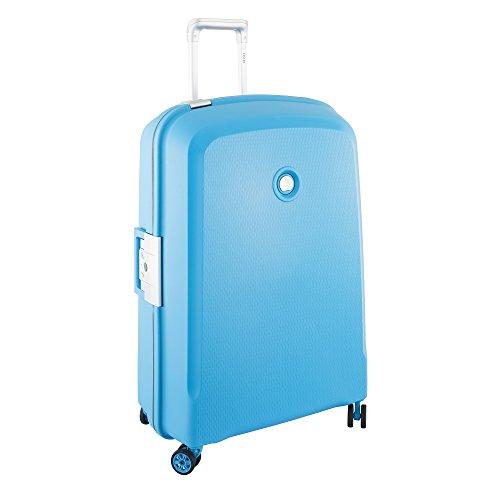 DELSEY PARIS Belfort Plus Valigia, 76 cm, 112 liters, Blu (Bleu Vert)