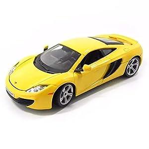 Bburago - McLaren 12C, color naranja (18-21074) , Modelos/colores Surtidos, 1 Unidad