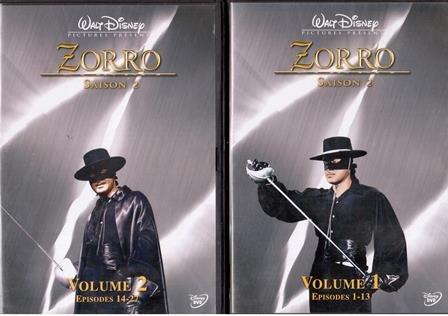 Zorro Saison 2 Volume 1 et 2 -Episodes 1 à 27