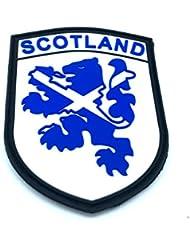 Escocia azul Rampant Lion Airsoft PVC parche