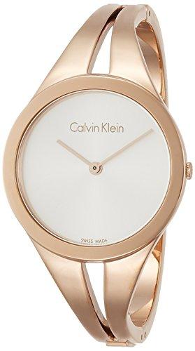 Calvin Klein Orologio Analogico Quarzo da Donna con Cinturino in Acciaio Inox K7W2S616