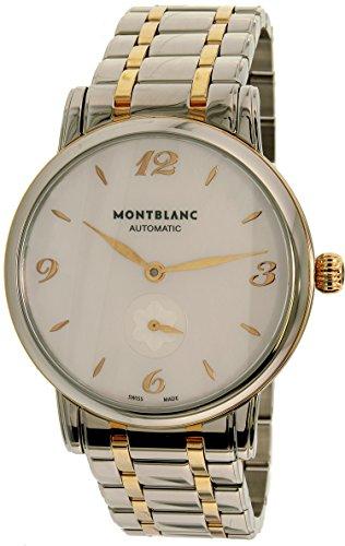 Montblanc Star Classique 107915 - Orologio automatico svizzero da donna, colore: Argento/Oro