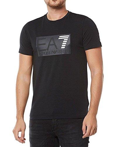 Emporio Armani EA7 - Camiseta de Algodón Para Hombre - Negro, S ee6ac5ff3fe