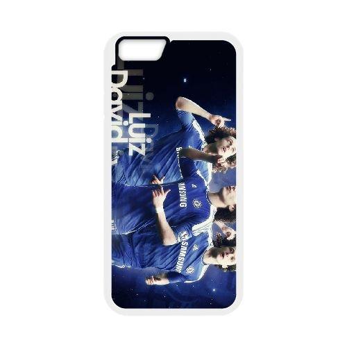 David Luiz coque iPhone 6 4.7 Inch Housse Blanc téléphone portable couverture de cas coque EBDXJKNBO13125
