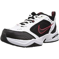 Nike Air Monarch IV, Zapatillas de Gimnasia para Hombre, Blanco (White/Black 101), 41 EU