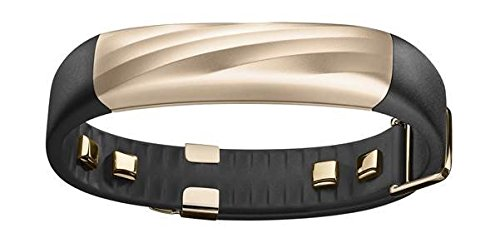 Jawbone UP3 JL04-6003ABD-US Activity Tracker Band with Heart Rate Monitoring Sleep Tracking and Smart Coach System Black Gold Twist  available at amazon for Rs.8435