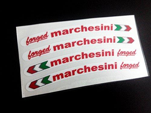 Ecoshirt Q0-KCMI-BCL2 Pegatinas Marchesini Llanta Wheels Ref:Eco12 Stickers Aufkleber Decals Adesivi, Colores...