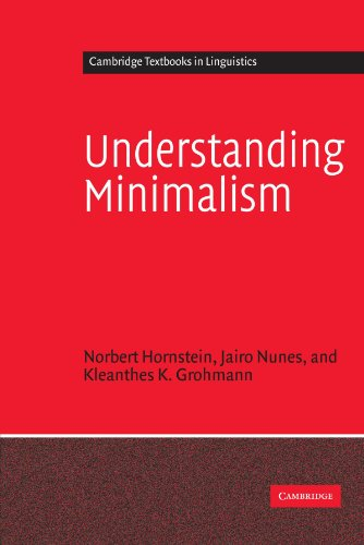 Understanding Minimalism Paperback (Cambridge Textbooks in Linguistics)