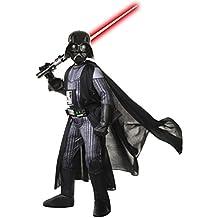 Super Deluxe Darth Vader - Star Wars - Niños Disfraz - Mediano - 132cm