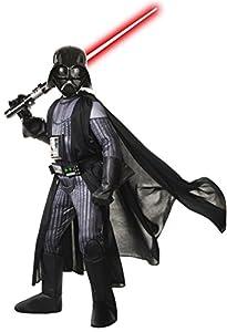 Rubies Disfraz de Star Wars, Disfraz de Sith Lord Darth Vader para niños