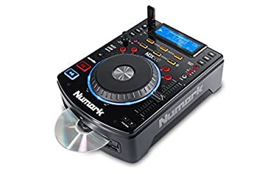 Numark NDX500, Stand Alone MP3/CD Player and DJ Controller with Touch-Sensitive Jog Wheel