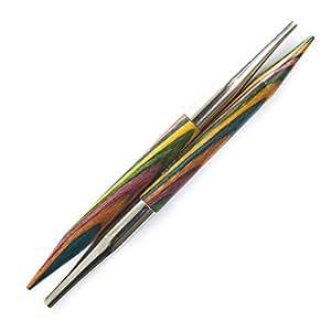 KnitPro 6 mm Symfonie Interchangeable Special Circular Needles, Multi-Color
