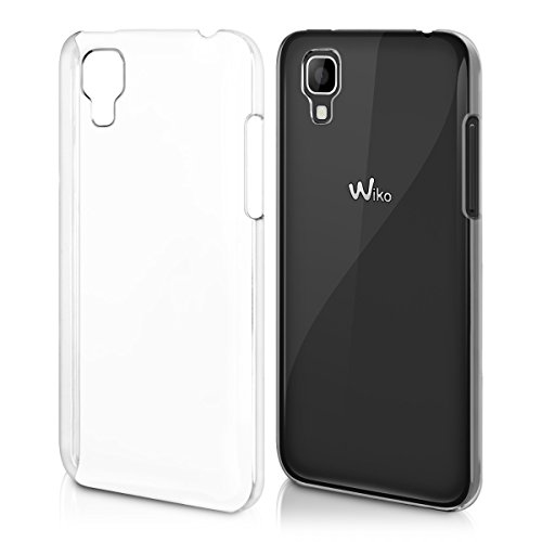 kwmobile Wiko Sunset Hülle - Handyhülle für Wiko Sunset - Handy Case in Transparent