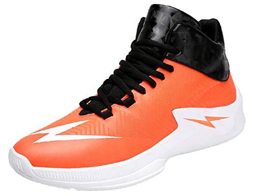 SINOES Mode Männer Hohe Hilfe Weiche Sohle Laufschuhe Turnschuhe Schuhe Herren Fitness Mesh Air Leichte Schuhe Neutral Jungen Basketballschuhe