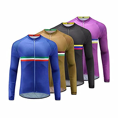 UGLYFROG 03 2017Warm with fleece Functional Autumn & Winter Radfahren Jersey Lange Ärmel for Men Element Mountainbike-Clothes