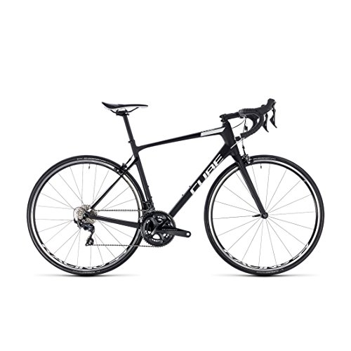 Rennrad Cube Attain GTC SL carbon' N 'White 2018 – 53 cm (Tapered Cube)