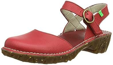 El Naturalista Yggdrasil N178, Chaussures de piscine et plage femme, Multicolore (Grosella), 37