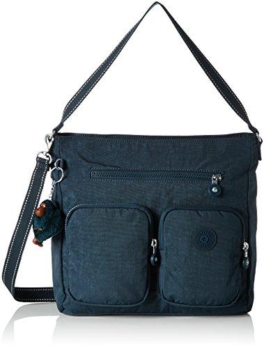 Kipling Tasmo, Women's Shoulder Bag, Grün (Deep Emerald C), 31x29x14 cm (B x H T)