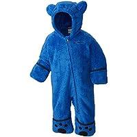 Columbia Niño Mono Polar, Foxy Baby II Bunting, Azul (Super Blue, Collegiate Navy), Talla: 12/18