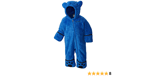 Foxy Baby II Bunting Blau Columbia Fleeceanzug f/ür Kinder Super Blue//Collegiate Navy Polyester Gr.
