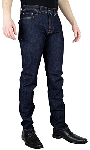 Pierre Cardin FUTURE FLEX 3451 - super flexibel - Tapered Fit/Modern Fit - Lyon Passform blau (dark indigo blue rinse washed 3451 8880.19)