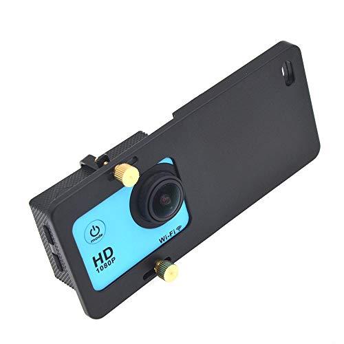 Yeldou Mount Plate Adapter, Switch Mount Plate Adapter Smart Phone OSMO Mobile Handheld Gimbal Accessories for Gopro Hero 7 6 5 4 3 DJI OSMO Mobile Gimbal Handheld