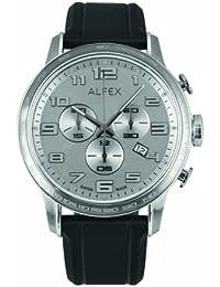 Alfex Reloj con movimiento cuarzo suizo Man Alfex 45 mm