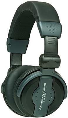 American Audio HP550 - Auriculares para DJ, color negro