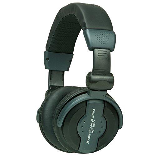 AMERICAN AUDIO HP550   AURICULARES PARA DJ  COLOR NEGRO