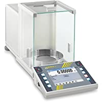 State-of-the-art premium touchscreen analytical balance [Kern AET 100-5M] With the complete range of functions for demanding processes, with EC type approval [M], Weighing Range [Max]: 100 g, Readout [d]: 0,01 g, Reproducibility: 0,05 g, Linearity: 0,1 g - Analytical Balance