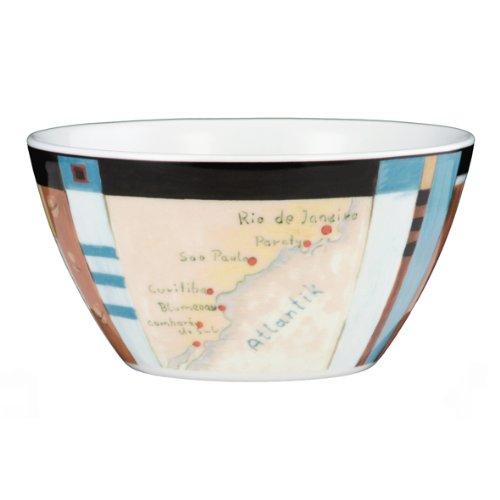 Schale 13 cm V I P. VIP. Brasilien 23298 2 Stück von Seltmann Weiden