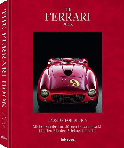 The Ferrari Book - Passion for Design. Das Buch über Ferrari, seine ikonischen Modelle und deren Designer. (Deutsch, Englisch, Französisch, Italienisch) - 29x37 cm, 416 Seiten