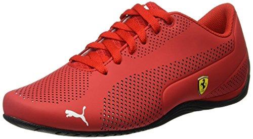 Puma Unisex-erwachsene Sf Drift Cat 5 Ultra Low-top Rot (rosso Corsa-puma Bianco-puma Nero 01)