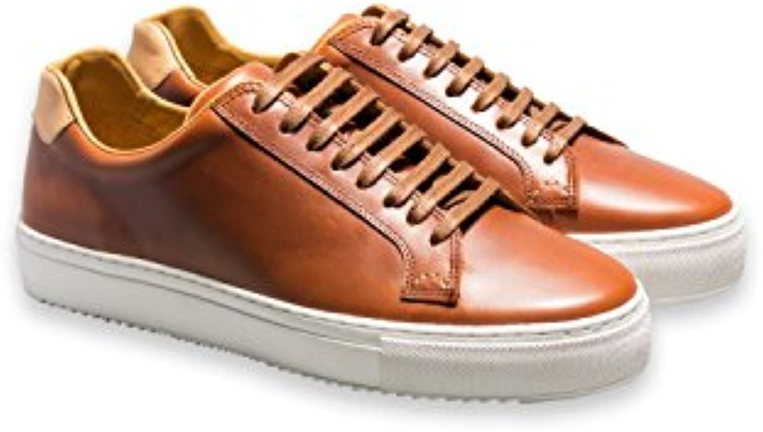 Uli Schott  The unknown brand Hyde Street Sneaker Cognac