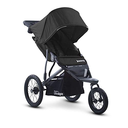 Joovy Zoom 360 Ultralight Jogging Kinderwagen, Schwarz