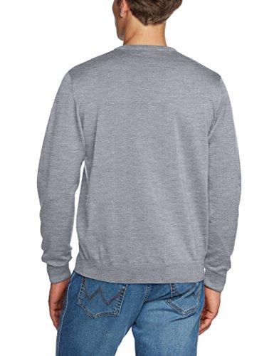 Maerz Herren Pullover 490400 Grau (Stone Grey 559)
