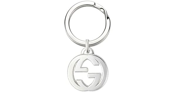 f21ef43d1 Gucci Silver YBF49903300100U Keyring: Amazon.co.uk: Kitchen & Home