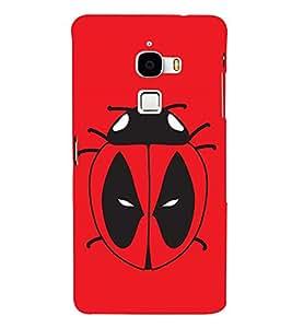 PrintVisa Adorable Ladybug 3D Hard Polycarbonate Designer Back Case Cover for LeTv Le Max :: LeEco Le Max 2 X820 :: Letv Le Max X900