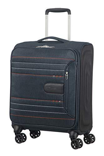 American Tourister Sonicsurfer - Spinner 55/20 Equipaje de mano, 55 cm, 40 l, Gris (Metal Grey)